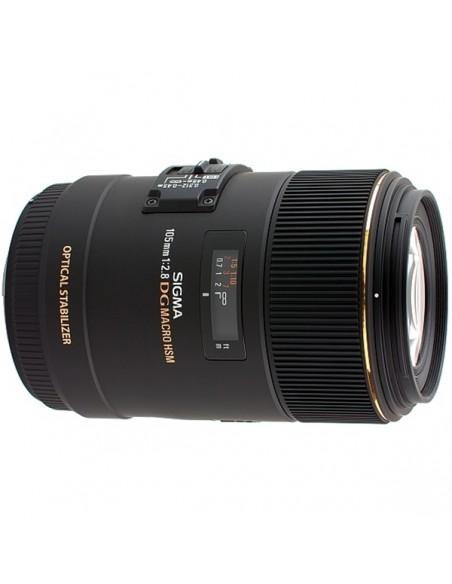 Sigma MACRO 105mm F2.8 EX DG OS HSM SLR Makro-objektiivi Musta Sigma 258956 - 3