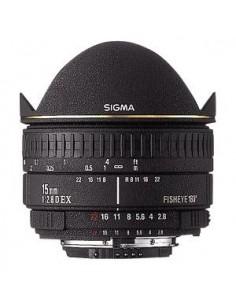 Sigma Fisheye 15mm f/2.8 EX DG Diagonal for Minolta/Sony AF Musta Sigma 476934 - 1