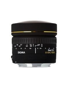 Sigma 8mm F3,5 Fish Eye Circulaire DG EX (Nikon) Musta Sigma 485959 - 1