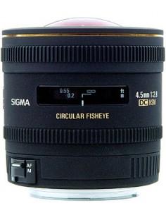Sigma 4.5mm F2.8 EX DC Circular Fisheye HSM SLR Laajakalansilmäobjektiivi Musta Sigma 486956 - 1