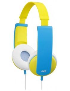 JVC HA-KD5-Y headphones/headset Kuulokkeet Pääpanta Keltainen Jvc HAKD5Y - 1