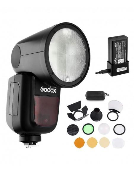 Godox V1-N Kompakti salama Musta Godox V1N - 3