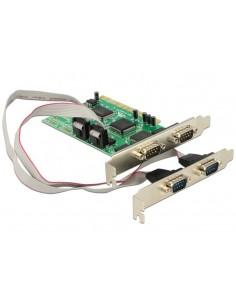 DeLOCK PCI Card 4x Serial liitäntäkortti/-sovitin Delock 89046 - 1