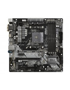 Asrock B450M Pro4 Kanta AM4 mikro ATX AMD B450 Asrock B450M PRO4 - 1