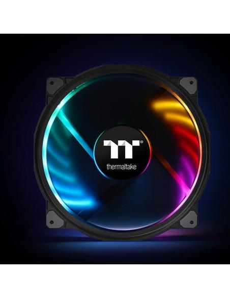 Thermaltake CL-F070-PL20SW-A tietokoneen jäähdytyskomponentti Tietokonekotelo Jäähdytin 20 cm Musta Thermaltake CL-F070-PL20SW-A