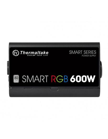 Thermaltake Smart RGB virtalähdeyksikkö 600 W 20+4 pin ATX Musta Thermaltake PS-SPR-0600NHSAWE-1 - 3