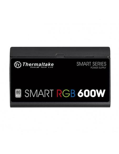 Thermaltake Smart RGB virtalähdeyksikkö 600 W 20+4 pin ATX Musta Thermaltake PS-SPR-0600NHSAWE-1 - 5