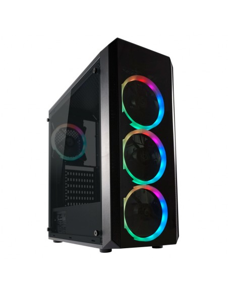 LC-Power Gaming 703B Midi Tower Musta Lc Power LC-703B-ON - 1