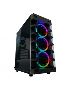 LC-Power Gaming 709B - Solar_System_X Midi Tower Musta Lc Power LC-709B-ON - 1