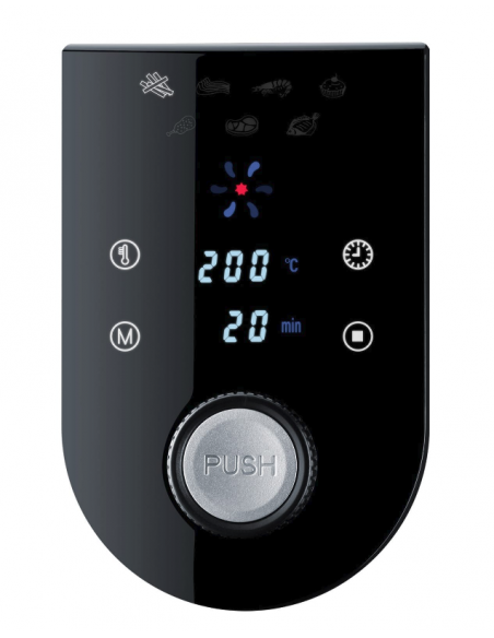Steba HF 5000 XL Kuumakiertoilmakypsennin 5.2 L Yksi Musta Erillinen 1800 W Steba 265000 - 6