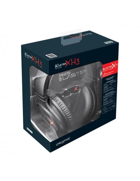 Creative Labs SOUND BLASTERX H3 Kuulokkeet Pääpanta Musta Creative 70GH034000000 - 4