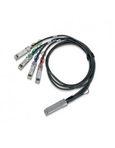 Mellanox Technologies MCP7F00-A02AR30L InfiniBand-kaapeli 2.5 m QSFP28 4x SFP28 Musta Mellanox Hw MCP7F00-A02AR30L - 1