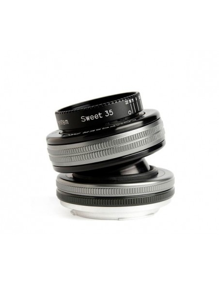 Lensbaby Composer Pro II with Sweet 35 Optic SLR Musta, Hopea Lensbaby LBCP235C - 1