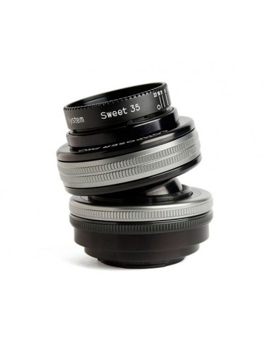 Lensbaby Composer Pro II with Sweet 35 Optic SLR Musta, Hopea Lensbaby LBCP235M - 1