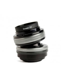 Lensbaby Composer Pro II with Sweet 50 Optic SLR Musta, Hopea Lensbaby LBCP250F - 1