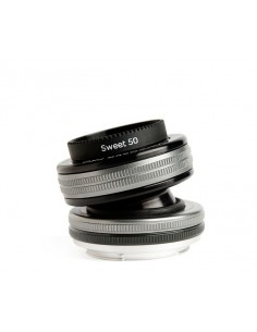 Lensbaby Composer Pro II with Sweet 50 Optic SLR Musta, Hopea Lensbaby LBCP250N - 1