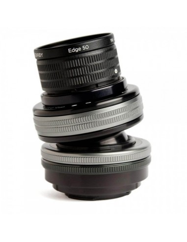 Lensbaby Composer Pro II with Edge 50 SLR Musta, Hopea Lensbaby LBCP2E50F - 1