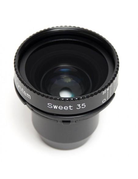 Lensbaby LBO35 kameran objektiivi Musta Lensbaby LBO35 - 2