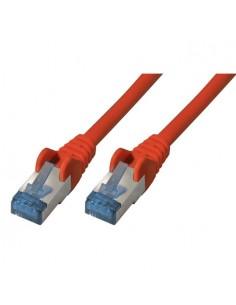 S-Conn Cat6a, 0.5m verkkokaapeli 0.5 m S/FTP (S-STP) Punainen No-name 75711-0.5R - 1