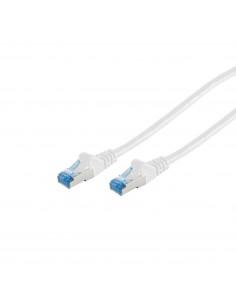 S-Conn 75711-0.5W verkkokaapeli 0.5 m Cat6a S/FTP (S-STP) Valkoinen No-name 75711-0.5W - 1