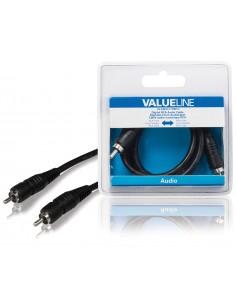 Valueline VLAB24170B10 audiokaapeli 1 m RCA Musta Valueline VLAB24170B10 - 1
