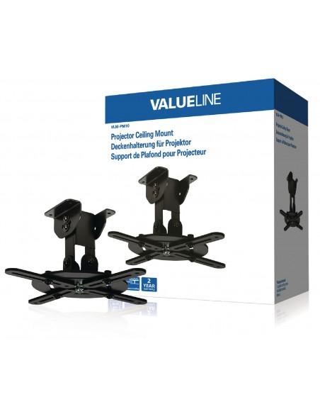 Valueline VLM-PM10 projektorin kiinnike Katto/seinä Musta Valueline VLM-PM10 - 2