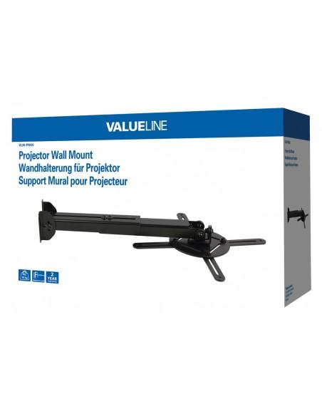 Valueline VLM-PM30 projektorin kiinnike Katto/seinä Musta Valueline VLM-PM30 - 3