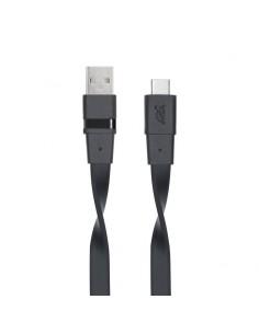 Rivacase VA6003 BK12 USB-kaapeli 1.2 m 3.2 Gen 1 (3.1 1) USB A C Musta Rivacase 4260403572924 - 1