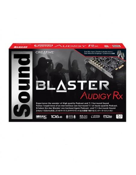 Creative Labs Sound Blaster Audigy Rx Sisäinen 7.1 kanavaa PCI-E Creative 70SB155000001 - 2