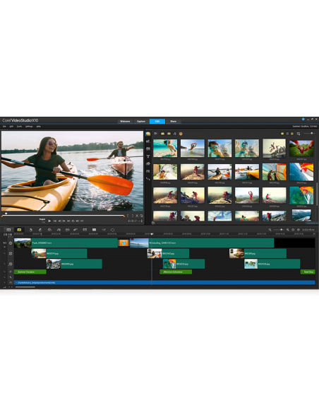 Corel VideoStudio Ultimate X10 Corel VSPRX10ULMLMBEU - 2
