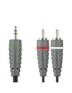 Bandridge BAL3405 audiokaapeli 5 m 3.5mm RCA Musta Bandridge BAL3405 - 1