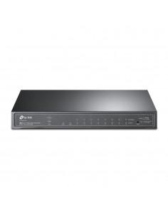 TP-LINK TL-SG2210P verkkokytkin Hallittu L2/L4 Gigabit Ethernet (10/100/1000) Musta Power over -tuki Tp-link TL-SG2210P - 1