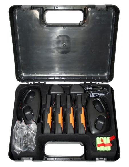 DeTeWe Outdoor 8000 Quad Case radiopuhelin 8 kanavaa Detewe 208048 - 3
