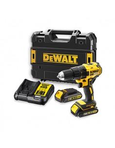 DeWALT DCD777S2T-QW porakone 1750 RPM Avaimeton 1.5 kg Musta, Keltainen Dewalt DCD777S2T - 1