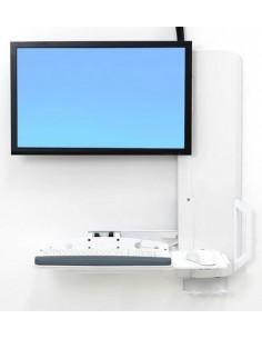 """Ergotron 61-081-062 monitor mount / stand 61 cm (24"""") White Ergotron 61-081-062 - 1"""