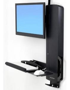 """Ergotron 61-081-085 monitorin kiinnike ja jalusta 61 cm (24"""") Musta Ergotron 61-081-085 - 1"""