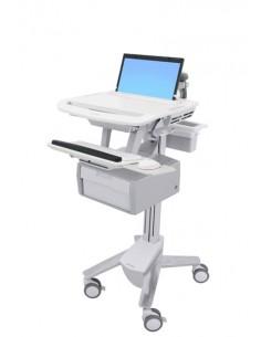 Ergotron StyleView White Notebook Multimedia cart Ergotron SV43-11B0-0 - 1