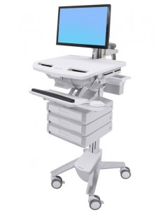 Ergotron StyleView Flat panel Multimedia cart Ergotron SV43-1230-0 - 1