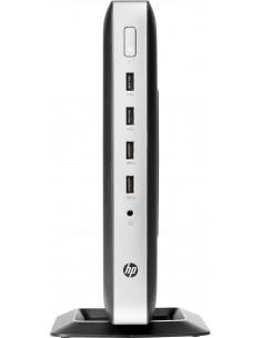 HP t630 2 GHz GX-420GI Windows Embedded Standard 7E 1.52 kg Silver, Svart Hp 2ZU99AA#AK8 - 1