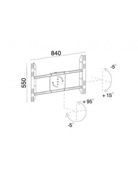 Multibrackets 6986 tillbehör till bildskärmsfäste Multibrackets 7350022736986 - 8