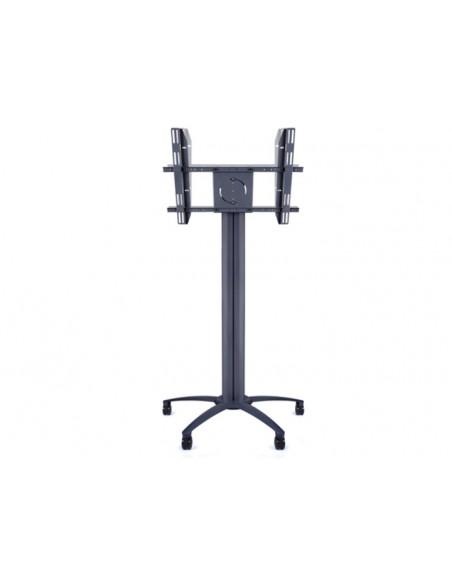 Multibrackets M Public Display Stand Pillar 70 Black, incl. 220V Power Rail Multibrackets 7350073730681 - 2