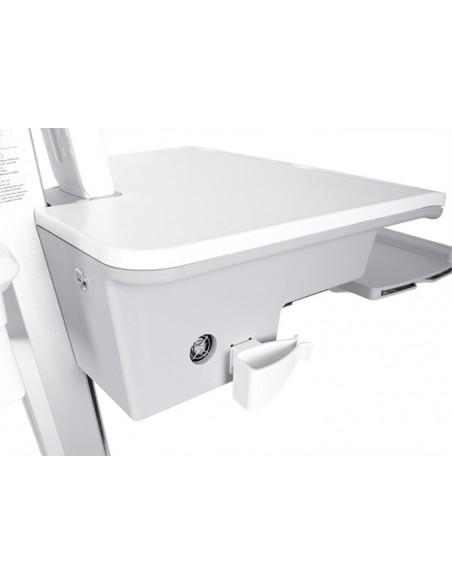 Multibrackets 0773 multimediavagnar & ställ Silver, Vit PC Multimediavagn Multibrackets 7350073730773 - 5
