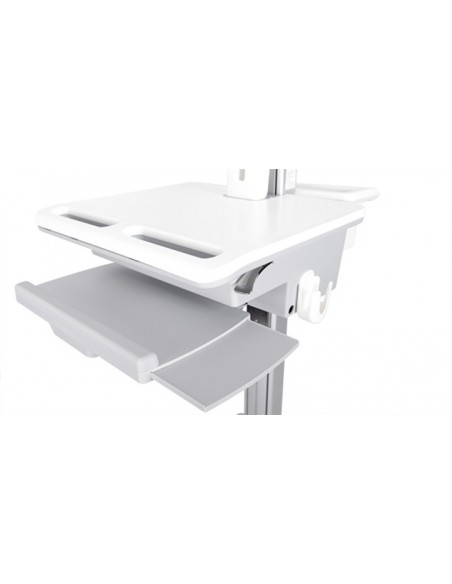 Multibrackets 0964 multimediavagnar & ställ Silver, Vit PC Multimediavagn Multibrackets 7350073730964 - 4