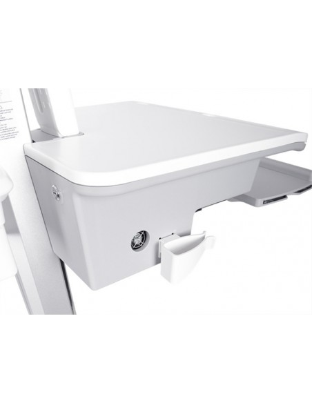 Multibrackets 0964 multimedialaitteiden kärry ja teline Hopea, Valkoinen PC Multimediakärry Multibrackets 7350073730964 - 5