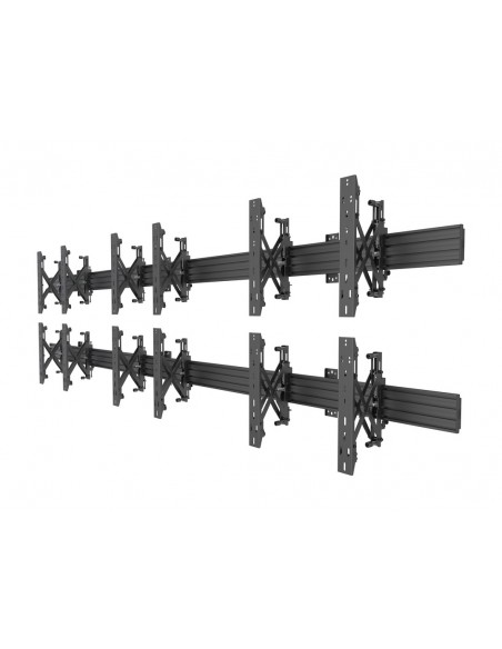 Multibrackets M Wallmount Pro MBW3x2U Push In Pop Out Black Multibrackets 7350073735006 - 3