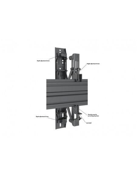 """Multibrackets 5006 kyltin näyttökiinnike 165.1 cm (65"""") Musta Multibrackets 7350073735006 - 9"""