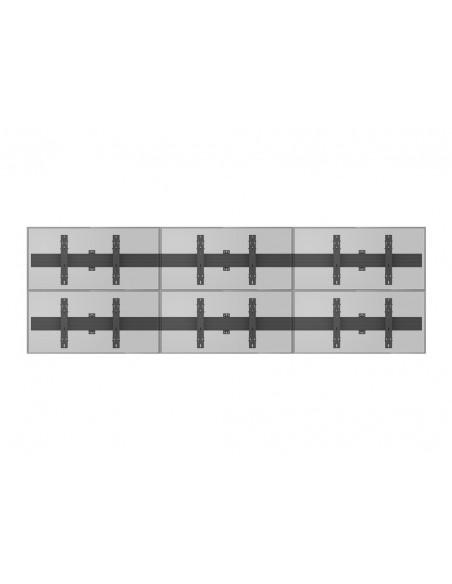 """Multibrackets 5006 kyltin näyttökiinnike 165.1 cm (65"""") Musta Multibrackets 7350073735006 - 13"""