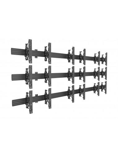 Multibrackets M Wallmount Pro MBW3x3U Push In Pop Out Black Multibrackets 7350073735013 - 1