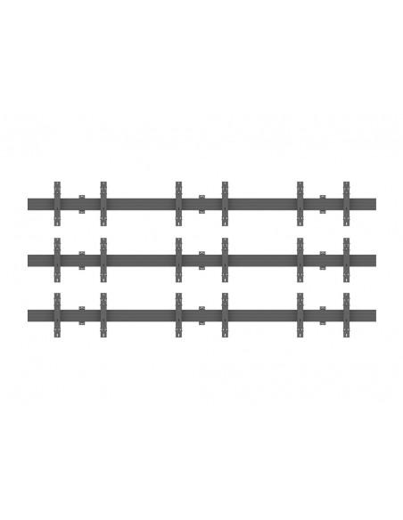"""Multibrackets 5013 fäste för skyltningsskärm 165.1 cm (65"""") Svart Multibrackets 7350073735013 - 2"""