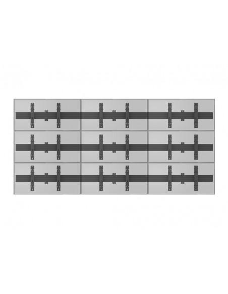 Multibrackets M Wallmount Pro MBW3x3U Push In Pop Out Black Multibrackets 7350073735013 - 13